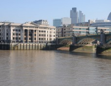 Vintners Place and Southwark Bridge